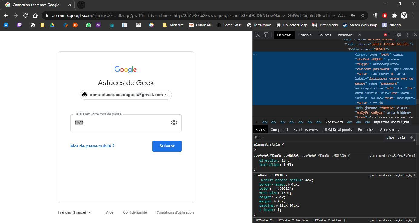 Démasquer tous vos mots de passe sur Chrome et Firefox
