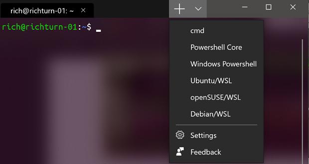 Terminal Windows: Powershell + cmd en un outil